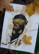Autumn critter
